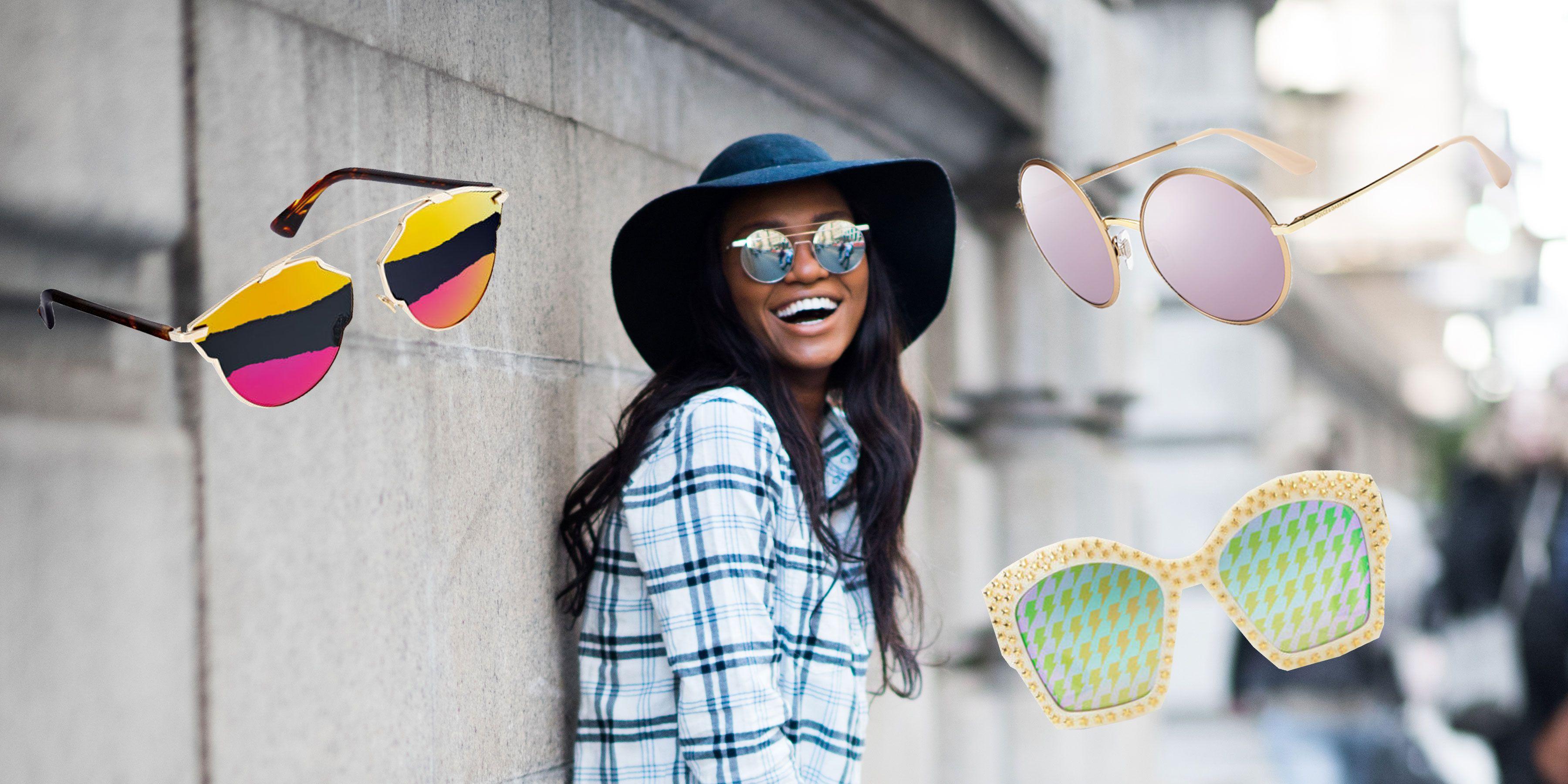 4753b9d3b658 Gli occhiali da sole a specchio da donna più belli