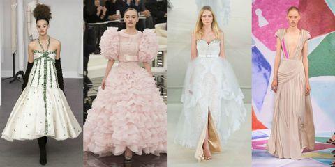 abiti da sposa delle sfilate Haute Couture