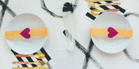 4 idee per apparecchiare la tavola a san valentino - Idee tavola san valentino ...