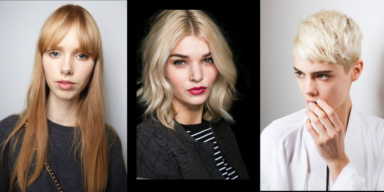 Taglio di capelli medi 2017