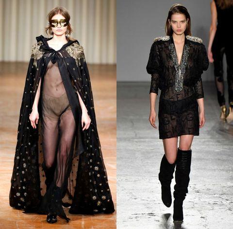 tendenze moda autunno inverno 2017 2018 trasparenze