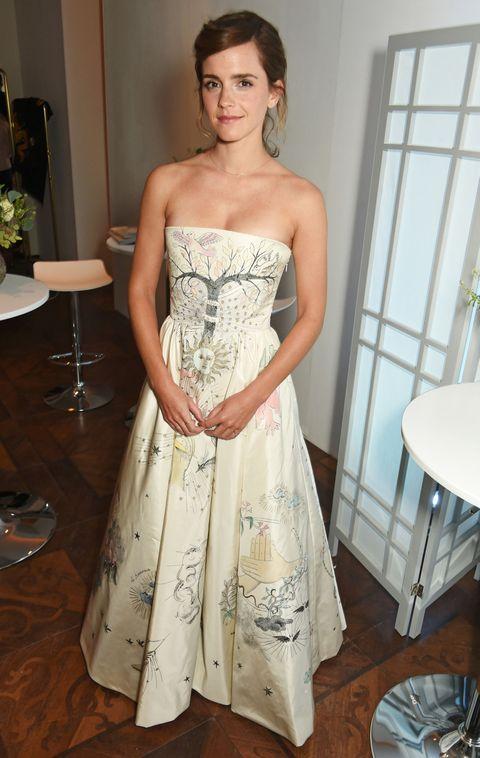 Emma Watson, wedding dress inspiration