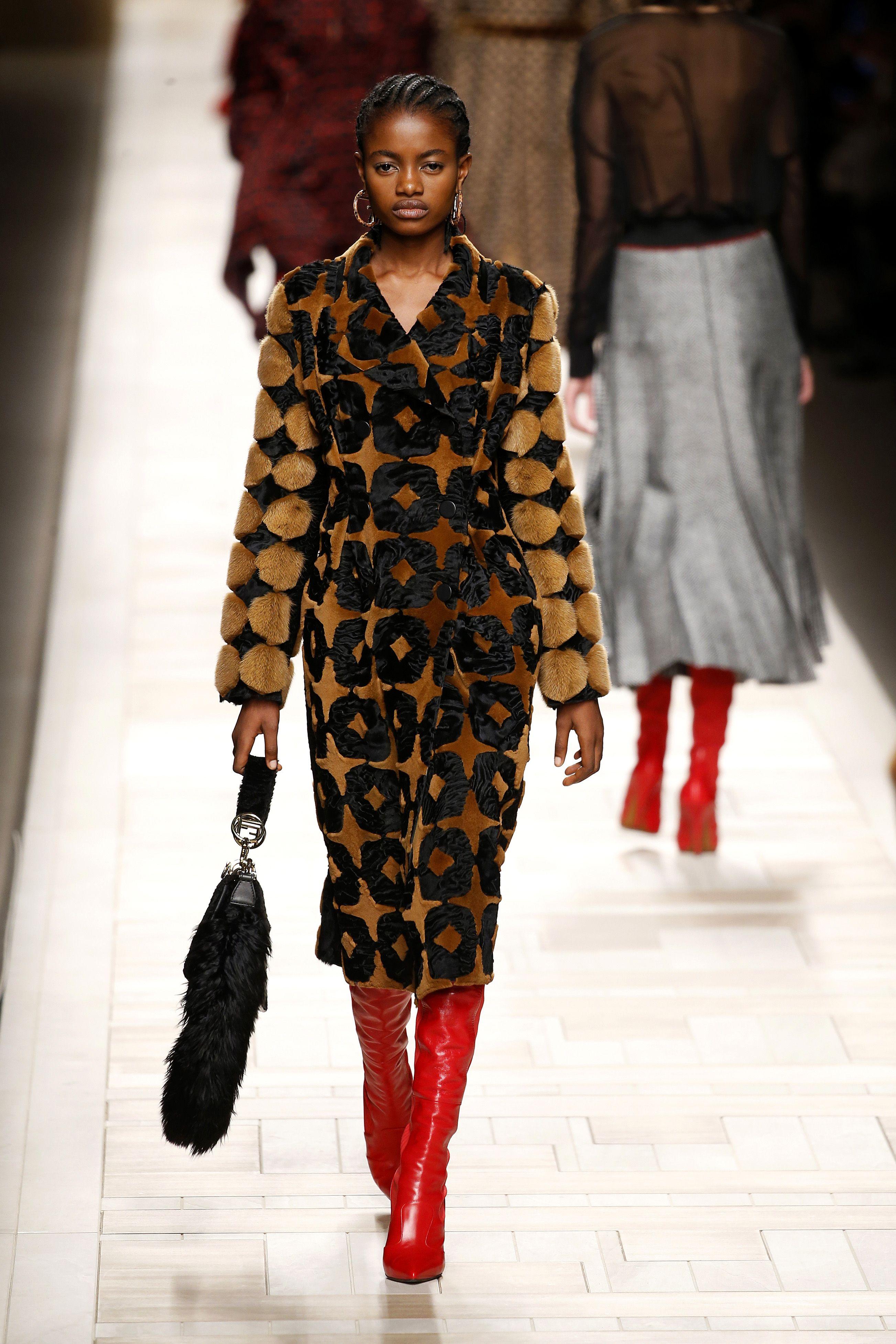 pellicce tendenza moda autunno inverno 2017 2018 fendi
