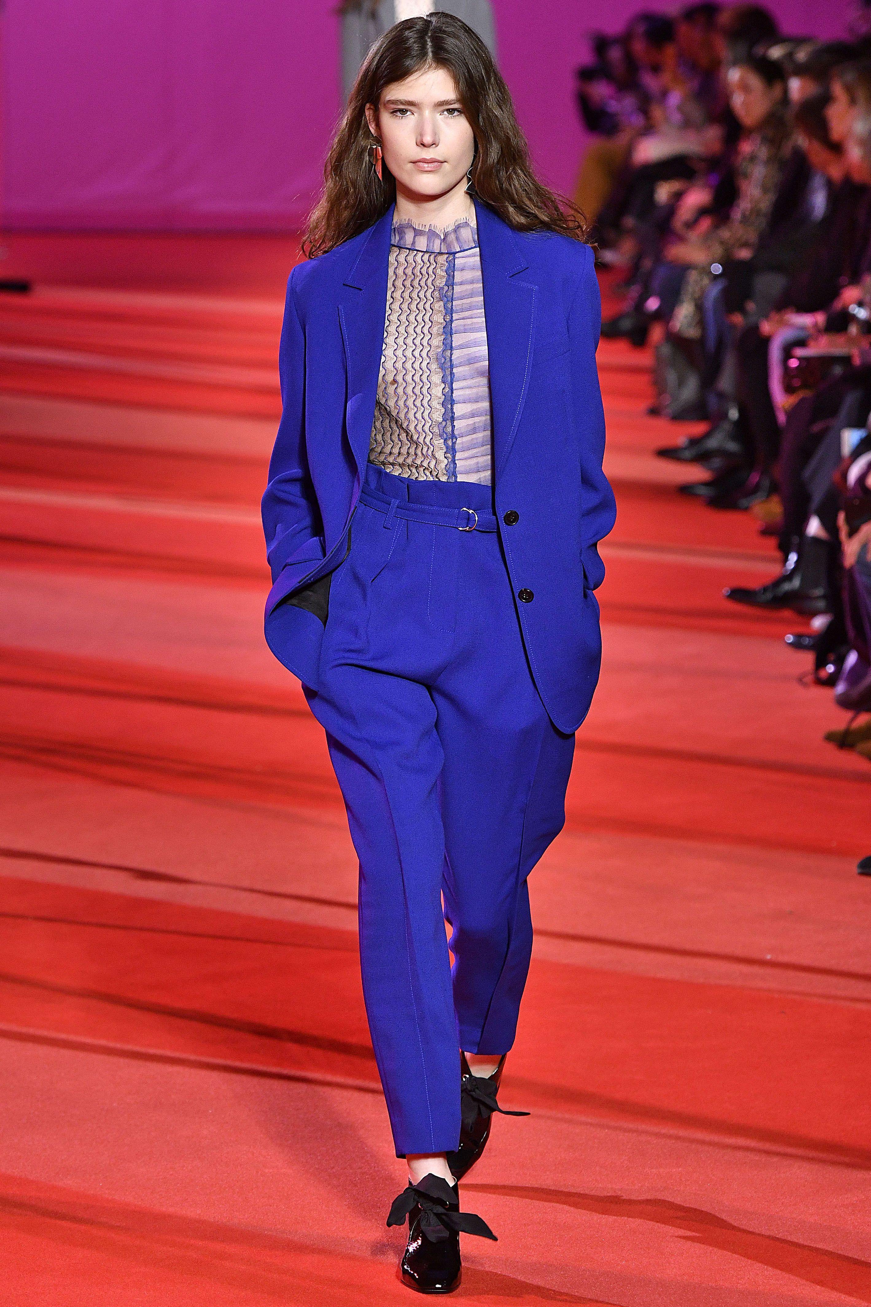 tailleur pantaloni moda autunno inverno 2017 2018