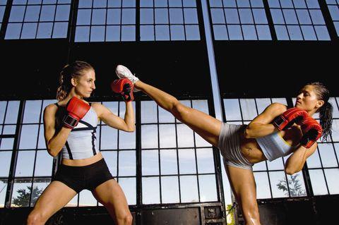 perdere peso kick boxing