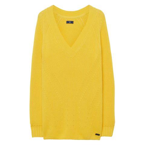 Festa della donna 2017: look giallo mimosa come il maglione Gant