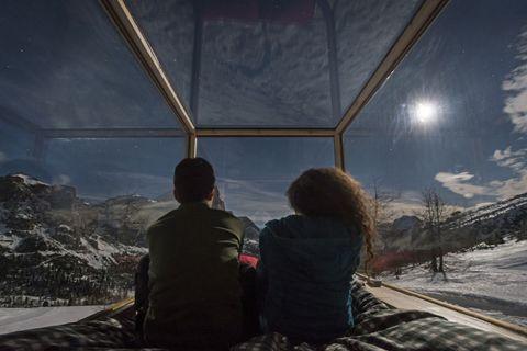 STARLIGHT ROOM stanza mobile a Col Gallina passo Falzarego