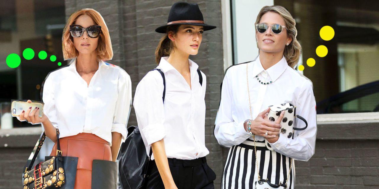 Camicia bianca: Le 5 idee più fashion per abbinarla la