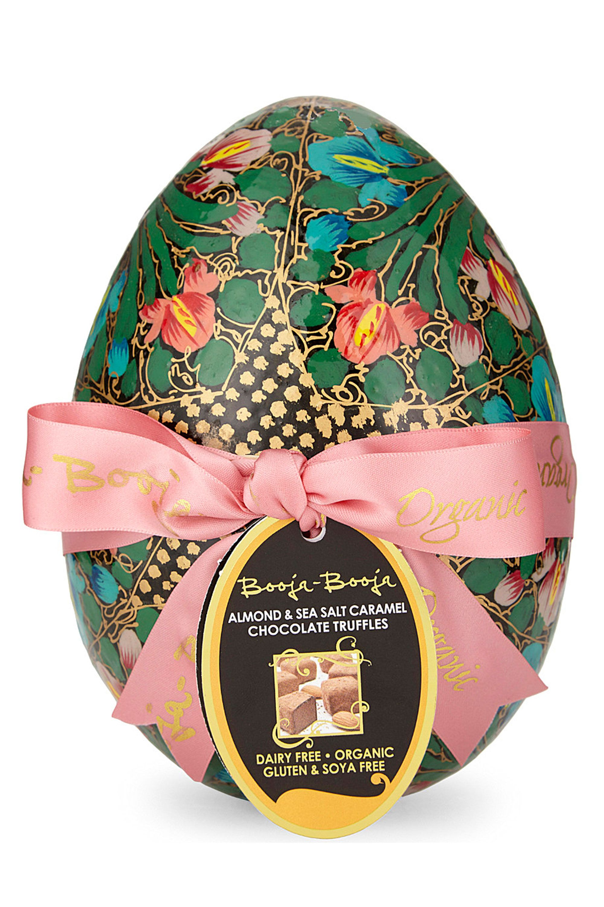 Best luxury easter eggs - Booja Booja dairy free easter egg