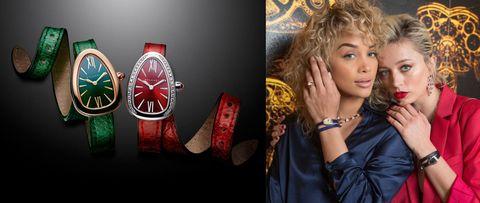 Orologi gioiello top Basilea 2017 come il modello Serpenti di Bulgari