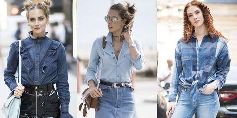 a9063c176e0c Come abbinare e indossare la camicia di jeans