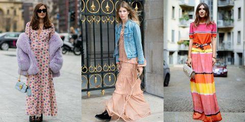 finest selection d2e4a 2964f Come sdrammatizzare i vestiti lunghi (e indossarli tutti i ...