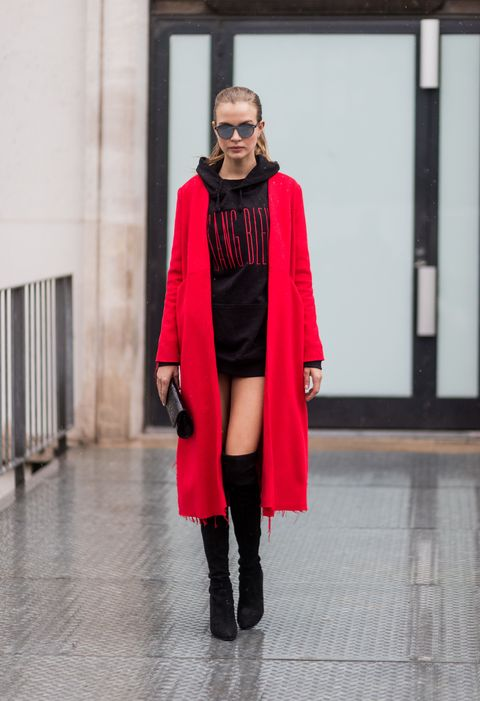 josephine skriver look street style