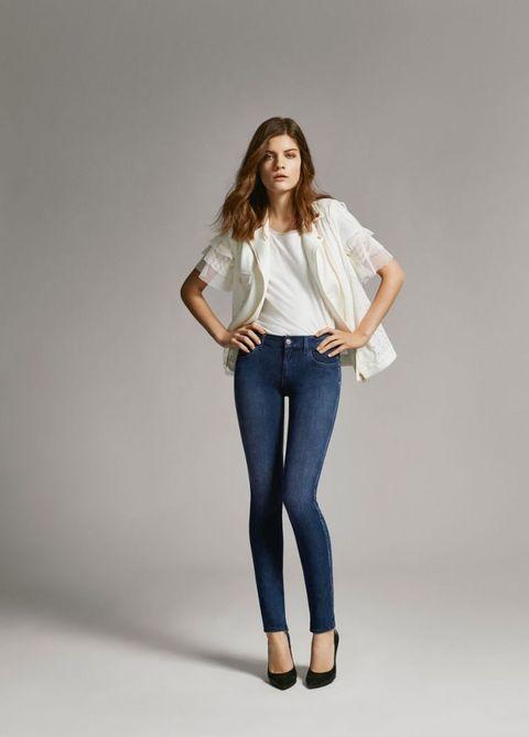 jeans mania il modello skinny di Liu Jo