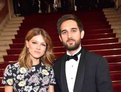 Dimitri Rassam e la moglie Masha Novoselova ai Cesar Film Award 2016 - Parigi