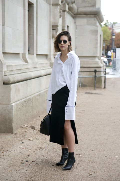 come indossare una camicia look street style