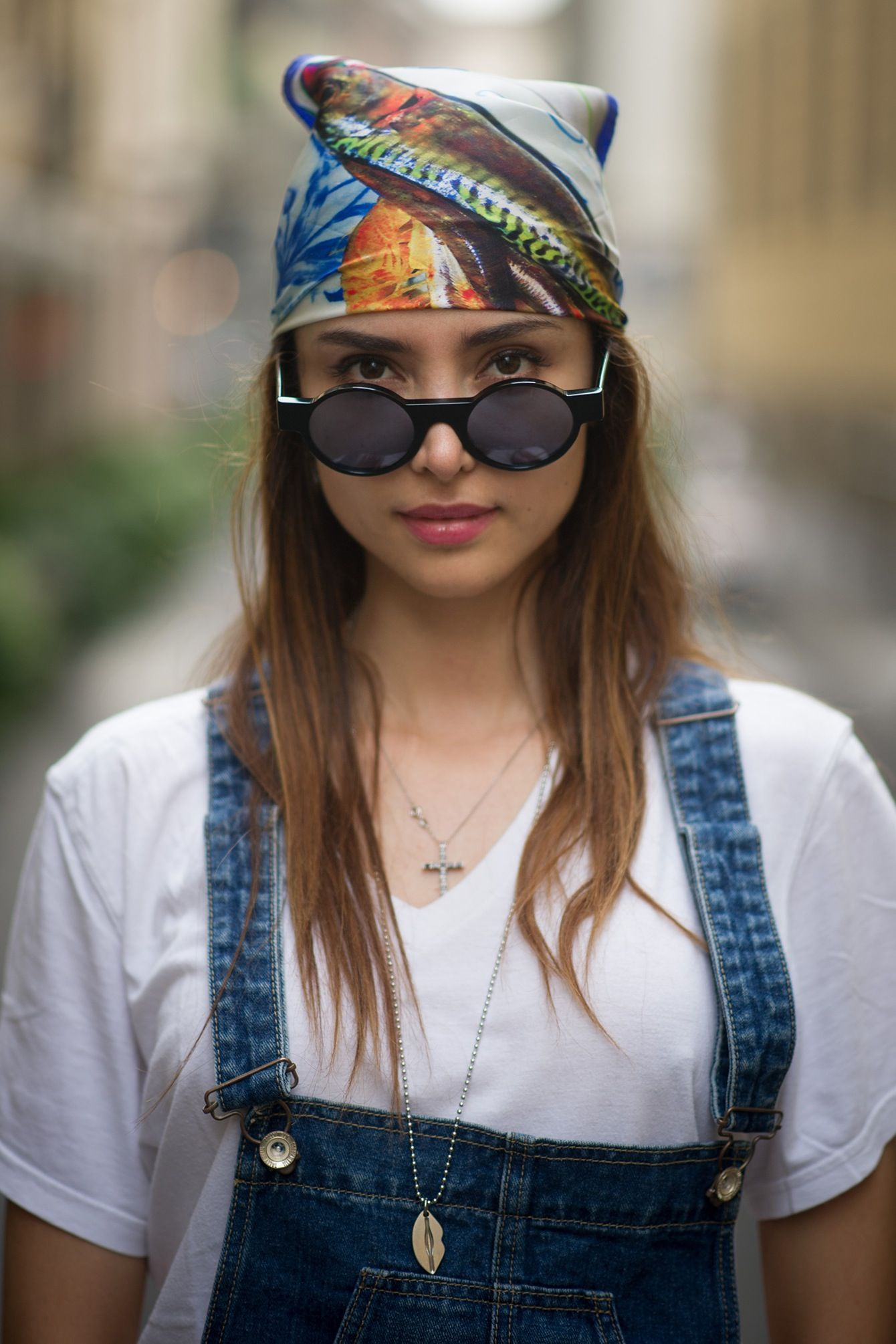 Bandana: 12 modi d'indossare il foulard
