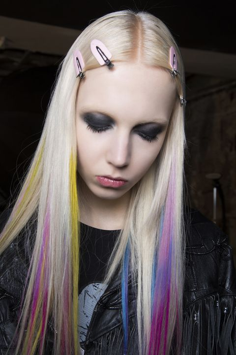 Capelli Arcobaleno 25 Rainbow Hair Da Copiare