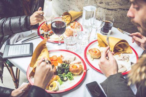 cosa mangiare al ristorante se sei a dieta