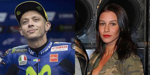 Valentino Rossi e Giorgia Crivello