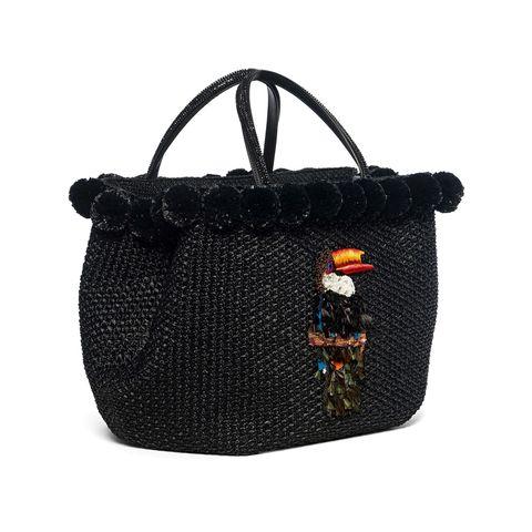 Idee moda 2018 per neo mamme come la borsa cesto di Ermanno Scervino