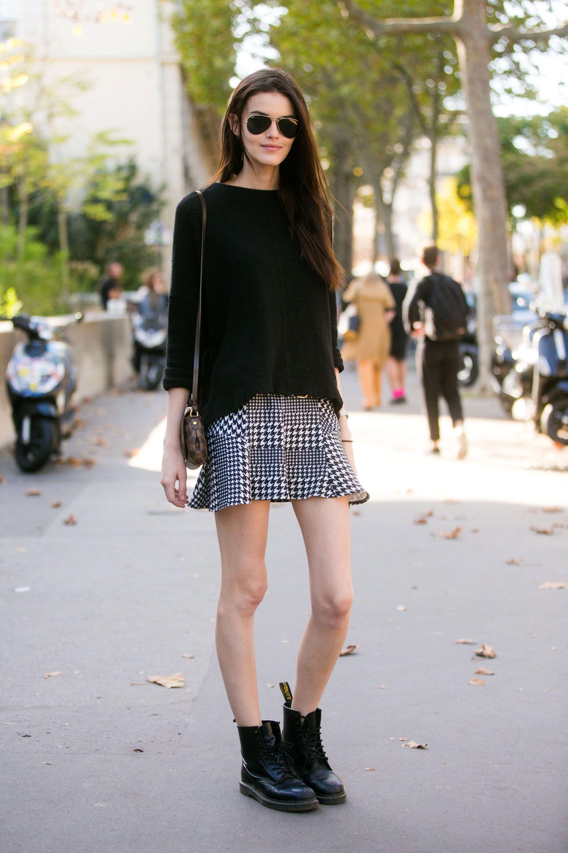 come indossare la minigonna