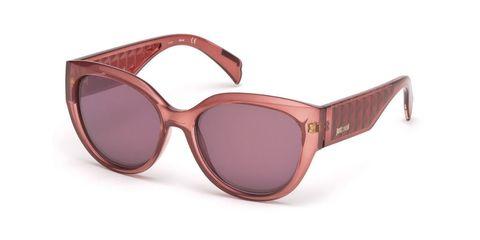 Occhiali da sole moda anni '70 Just Cavalli primavera estate 2017