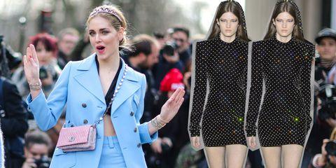 Fashion, Street fashion, Clothing, Polka dot, Beauty, Lip, Fashion model, Outerwear, Blond, Pattern,
