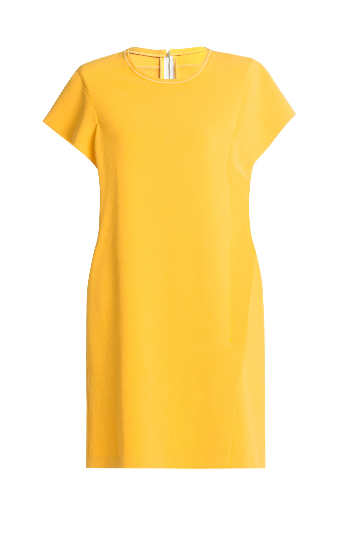 """<p>Indossa questa semplice tunica firmata Bimba Y Lola con un sandalo basso marrone e la giusta abbronzatura.</p><p>Mini dress color mostarda, <strong data-redactor-tag=""""strong"""" data-verified=""""redactor"""">Bimba Y Lola</strong></p>"""