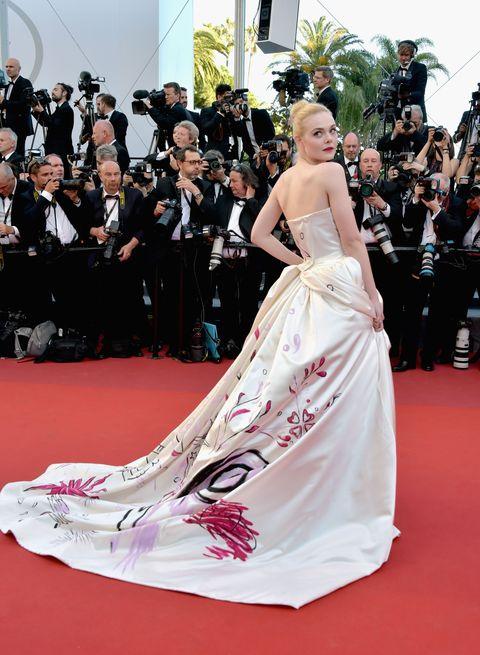 <p>Elle Fanning in Vivienne Westwood Couture</p>