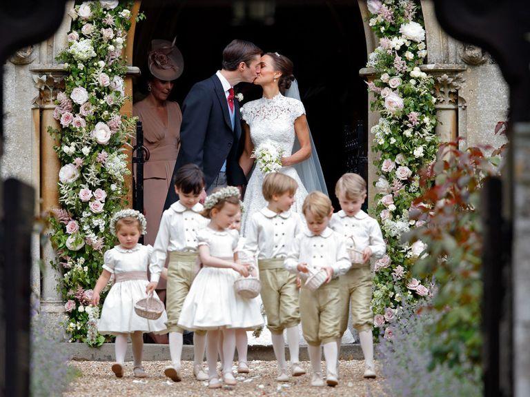 Matrimonio Kate Middleton : Pippa middleton un matrimonio di famiglia