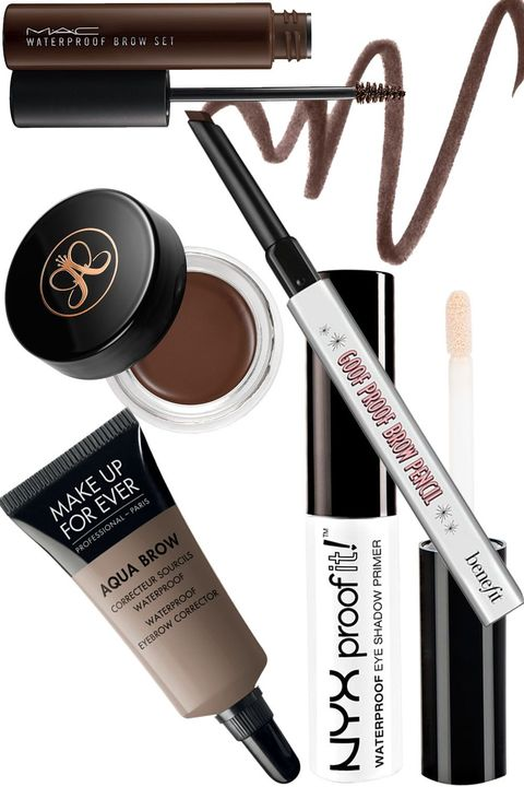 "<p>Perché non c'è niente di peggio che uscire dalla piscina con le sopracciglia in disordine.</p><p><strong data-redactor-tag=""strong"">MAC Cosmetics </strong>Waterproof Brow Set,&nbsp;<strong data-redactor-tag=""strong"">Anastasia Beverly Hills</strong> Dipbrow Pomade,&nbsp;<strong data-redactor-tag=""strong"">Benefit Cosmetics </strong>Goof Proof Brow Pencil Easy Shape &amp; Fill,&nbsp;<strong data-redactor-tag=""strong"">Make Up Forever</strong> Aqua Brow,&nbsp;<strong data-redactor-tag=""strong"">NYX Cosmetics </strong>Waterproof Brow Primer.</p>"