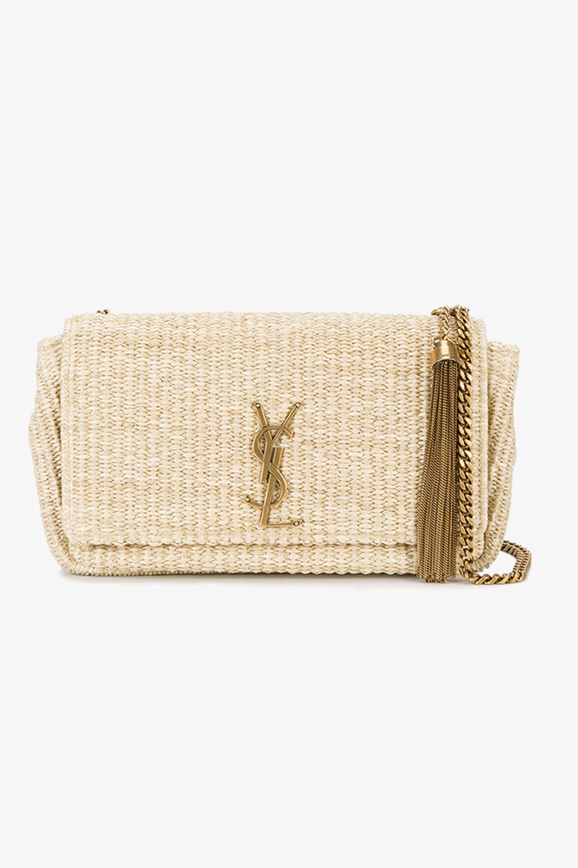 YSL straw bag