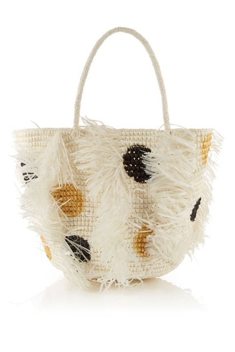 Sensi Studio straw bag