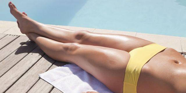 che fare una profonda epilazione in Bikini a casa