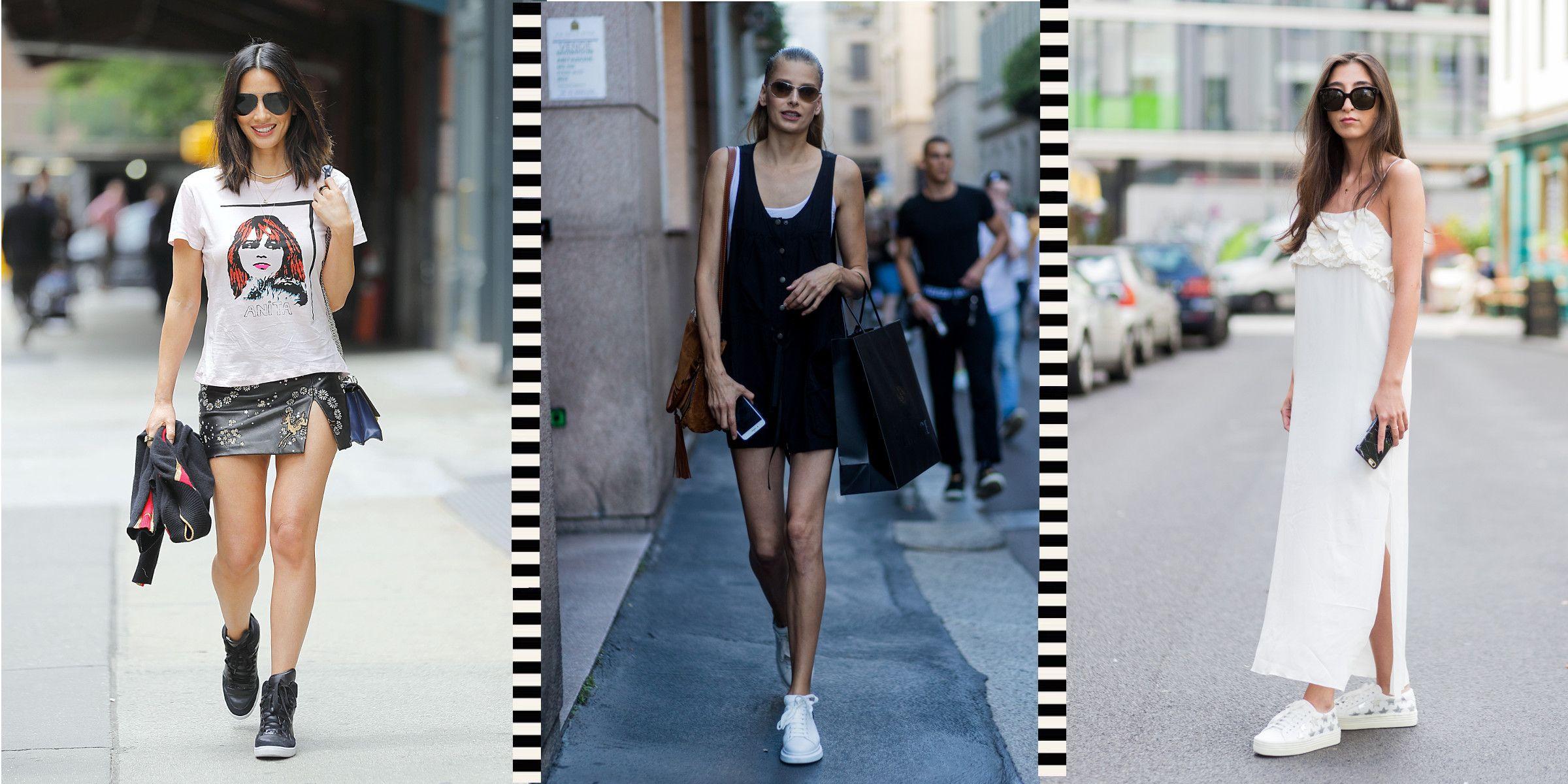 Sneakers donna estive con zeppa, i modelli più trendy