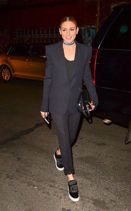 Come indossare le sneakers secondo Olivia Palermo