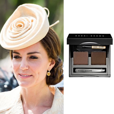 """<p>Have you ever noticed that Kate's brows are damn near perfect? Supposedly, this Bobbi Brown brow kit <a href=""""http://www.marieclaire.co.uk/beauty/kate-middleton-favourite-beauty-products-506975"""" target=""""_blank"""" data-tracking-id=""""recirc-text-link"""">is her trick</a>. She even used it on her wedding day! &nbsp;($48; <a href=""""http://shop.nordstrom.com/s/bobbi-brown-light-brow-kit/3275669"""" target=""""_blank"""" data-tracking-id=""""recirc-text-link"""">nordstrom.com</a>)</p><p><strong data-redactor-tag=""""strong"""" data-verified=""""redactor""""><a href=""""http://shop.nordstrom.com/s/bobbi-brown-light-brow-kit/3275669"""" target=""""_blank"""" class=""""slide-buy--button"""" data-tracking-id=""""recirc-text-link"""">BUY NOW</a></strong></p><p><strong data-verified=""""redactor"""" data-redactor-tag=""""strong"""">RELATED:&nbsp;<a href=""""http://www.redbookmag.com/beauty/makeup-skincare/tips/g3394/defined-eyebrows-tips/"""" target=""""_blank"""" data-tracking-id=""""recirc-text-link"""">You're 4 Steps Away From Perfectly Defined Eyebrows</a><span class=""""redactor-invisible-space""""><a href=""""http://www.redbookmag.com/beauty/makeup-skincare/tips/g3394/defined-eyebrows-tips/""""></a></span></strong><br></p>"""