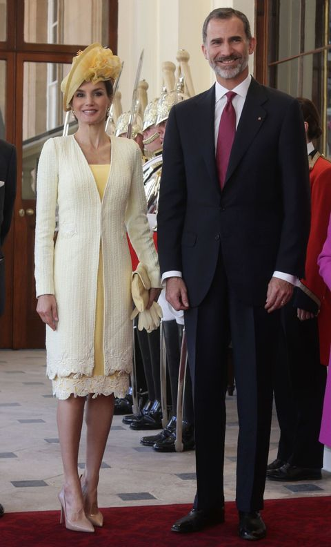 Queen Letizia of Spain in London
