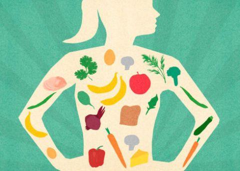 """<p>Lo sapete: <strong data-redactor-tag=""""strong"""" data-verified=""""redactor"""">l'alimentazione</strong> è alla base di una pelle perfetta e sana. Quindi dovete mangiare correttamente: si a frutta e verdura, no a zuccheri e fritti. E, mi raccomando, <a data-tracking-id=""""recirc-text-link"""" href=""""http://www.elle.com/it/benessere/salute/a4407/quanta-acqua-bere-ogni-giorno/"""">bevete tanta acqua</a>! In estate più che mai!</p>"""