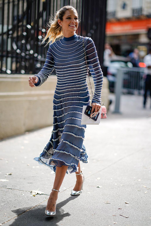 Quali scarpe abbinare ad un vestito blu