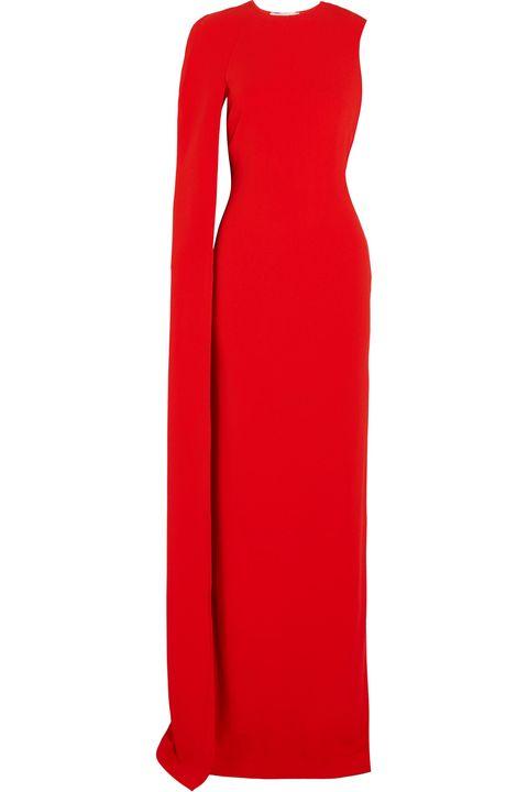 Abiti lunghi da cerimonia di sera eleganti come il vestito rosso di Stella  McCartney 0e4a969f512
