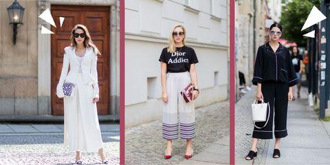 a649307974 Culotte pantaloni a vita alta: 5 outifit estivi di tendenza
