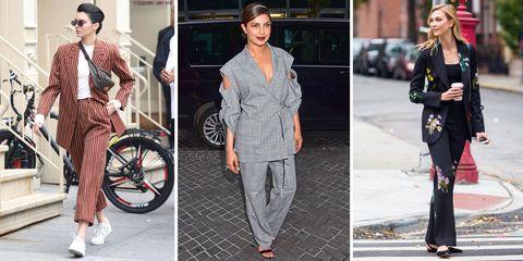 Clothing, Street fashion, Fashion, Jeans, Footwear, Outerwear, Fashion model, Trousers, Shoe, Blazer,