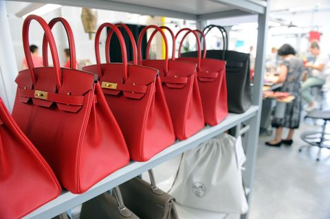 <p>All Birkins are crafted by a single artisan in one of the brand's workshops. It takes each artisan 48 hours of work to create a single bag. </p>
