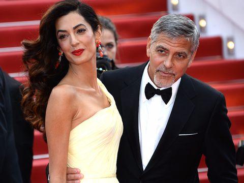 Festival del cinema di Venezia 2017: George Clooney e la moglie Amal