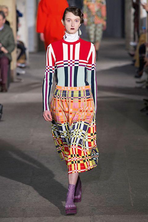 moda autunno inverno 2017 vestiti fantasia