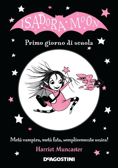"""<p>Isadora Moon, la protagonista di questa storia, è una bambina speciale: è fata da parte di mamma e vampira da papà. Lei vuole bene sia alla sua bellissima mamma che a suo papà che spesso se ne sta in giro di notte a svolazzare in cielo. E, ovviamente, ha preso un po' di mamma e un po' di papa: adora la notte ma anche l'alba, i pipistrelli e il suo Coniglietto Rosa, il tutù nero e le bacchette magiche. Ora è giunto il momento di andare a scuola e la piccola Isadora non sa quale scegliere: quella delle fate o la scuola dei vampiri? Quale decisione prenderà alla fine?</p><p>Un libro che, con leggerezza, affronta <strong data-redactor-tag=""""strong"""" data-verified=""""redactor"""">il tema della scelta</strong> e quello dell'inizio della scuola con tutto il distacco che questa «nuova» situazione comporta.</p>"""