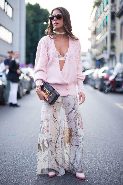come indossare il reggiseno per le fashion blogger