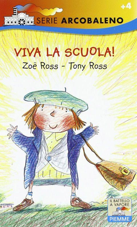 """<p>Tony e Zoe Ross con questo libro mettono un po' il dito nella piaga: il primo giorno di scuola, lo sappiamo bene, <strong data-redactor-tag=""""strong"""" data-verified=""""redactor"""">nessuno ha voglia di lasciare la mamma</strong>… e nemmeno le mamme vogliono lasciare figlie e figli. Figurarsi poi se si ha voglia di mangiare alla mensa scolastica, di incontrare quel «mostro» della maestra e conoscere i nuovi compagni. Tuttavia la magia è dietro l'angolo e quando il primo giorno di scuola termina si scopre di avere già almeno un nuovo amico o una nuova amica con cui condividere l'anno scolastico appena iniziato.</p>"""